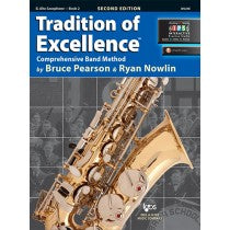 Tradition of Excellence Book 2 for Alto Saxophone