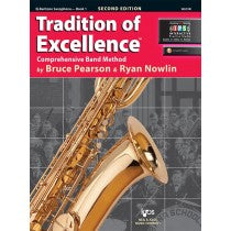 Tradition of Excellence Book 1 for Baritone Saxophone