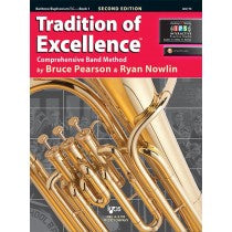 Tradition of Excellence Book 1 for Baritone / Euphonium (Treble Clef)