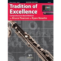 Tradition of Excellence Book 1 for Bass Clarinet