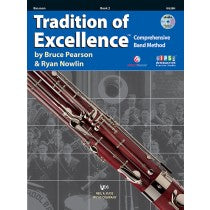 Tradition of Excellence Book 2 for Bassoon