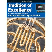 Tradition of Excellence Book 2 for French Horn