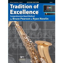 Tradition of Excellence Book 2 for Tenor Saxophone