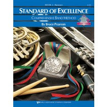 Standard of Excellence Band Method Book 2