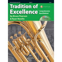 Tradition of Excellence Book 3 for Baritone (Bass Clef)