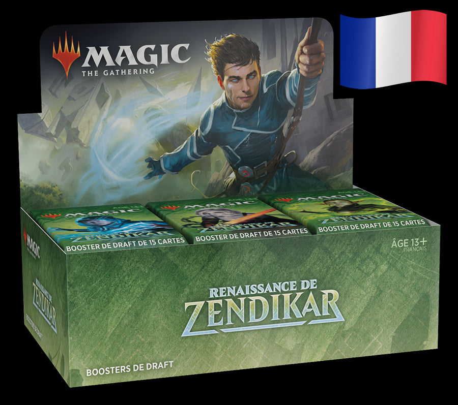 Boite de 36 boosters Magic - Renaissance de Zendikar FR