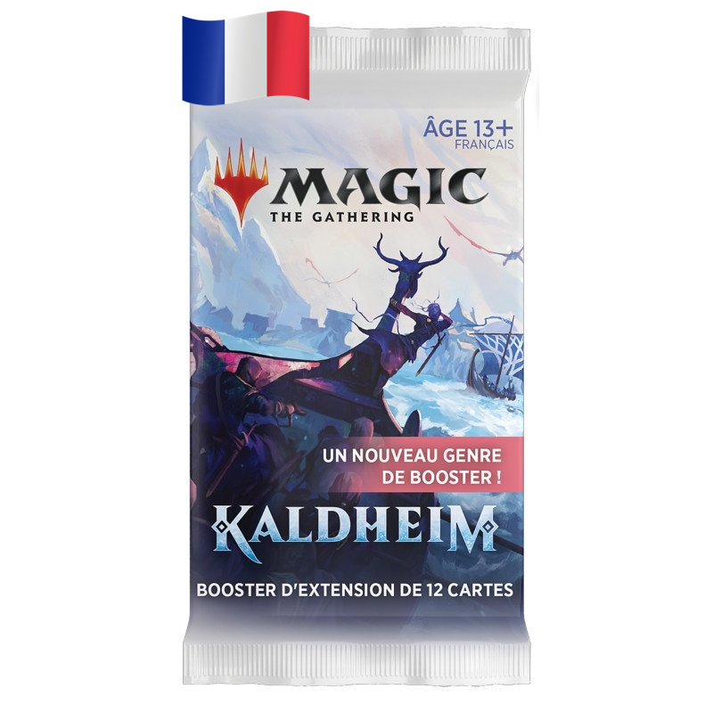 Boosters d'extension Magic - Kaldheim FR