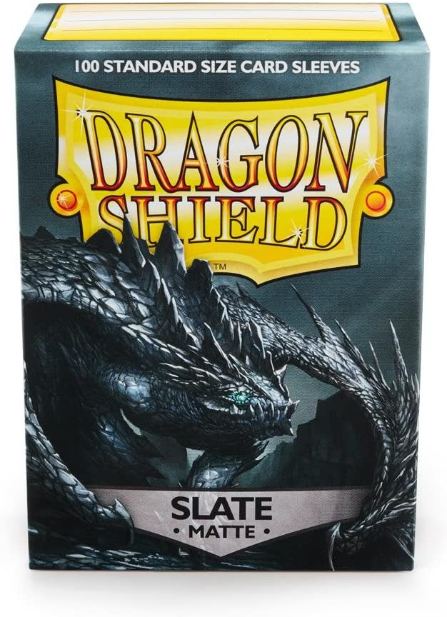 Dragon Shield - Standard Sleeves Matte Slate