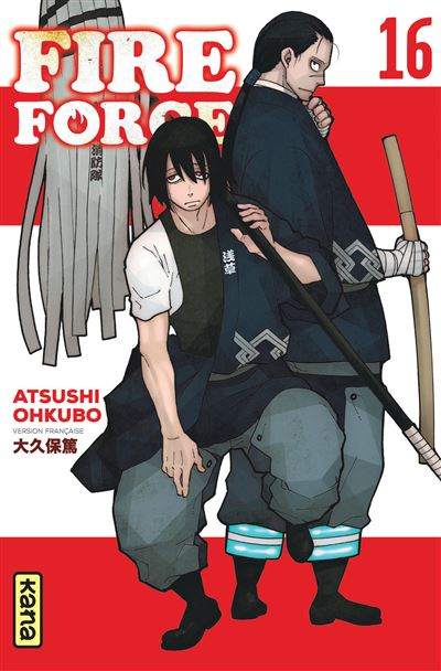 Fire Force - Tome 16