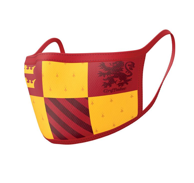 Harry Potter pack 2 Masques en tissu Gryffondor
