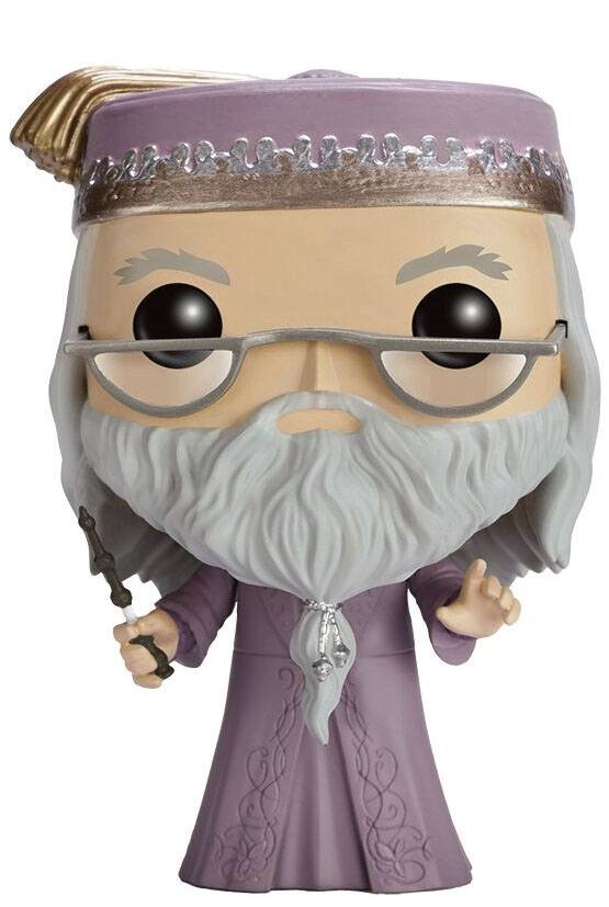 Harry Potter POP! Movies Vinyl figurine Dumbledore with Wand 9 cm