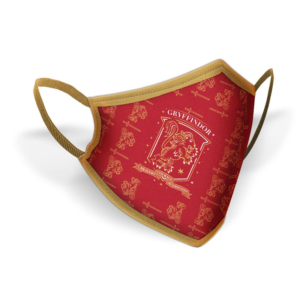 Masques en tissu Harry Potter Gryffindor Crest