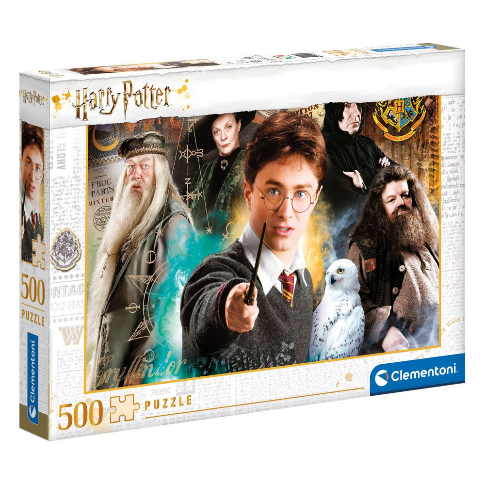 Harry Potter puzzle Harry at Hogwarts (500 pièces)