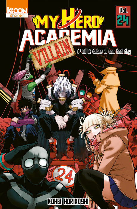 My Hero Academia - Tome 24