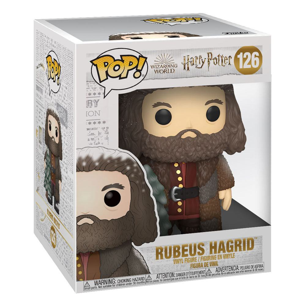 POP Harry Potter - Holiday Rubeus Hagrid 15 cm