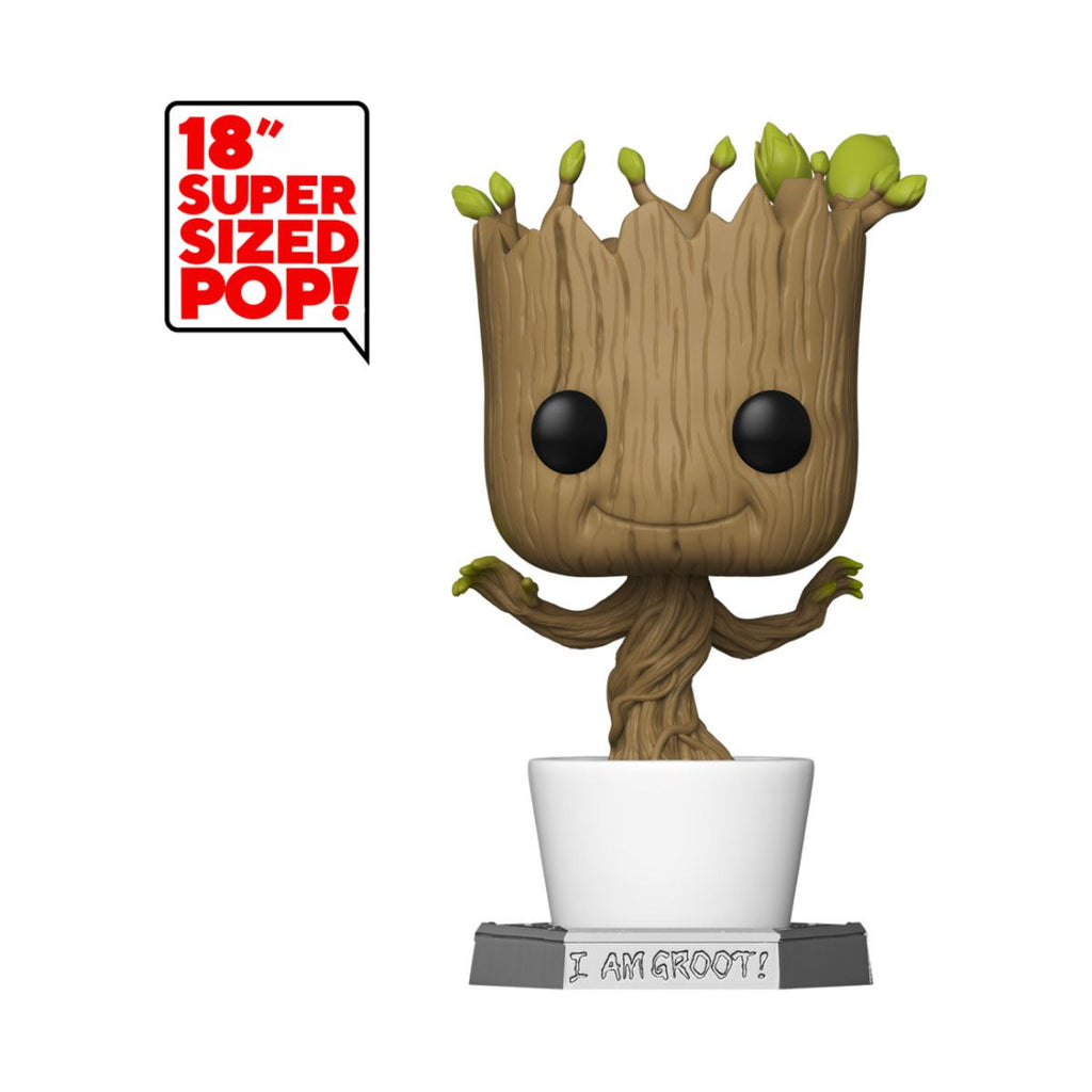 Pop Marvel Gardiens de la galaxie Dancing Groot 46 cm