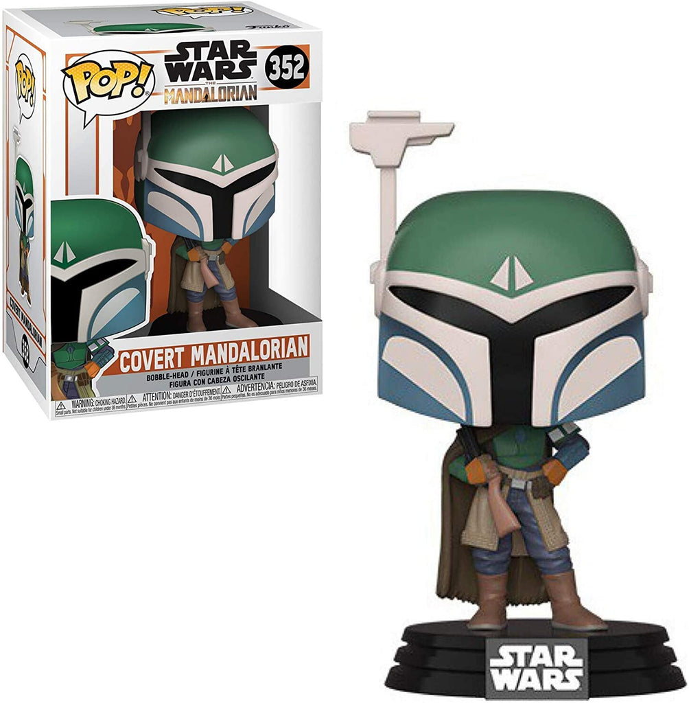 Pop Star Wars The Mandalorian Covert Mandalor