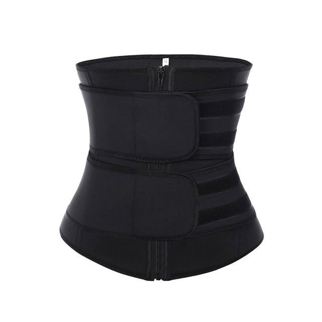 Neoprene Waist Trainer, Body Slimming Girdles, Waist Corset and Belt Modelling Strap - Fit 2 Perfect