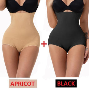 Slimming Body Waist Trainer Bodysuit, Push Up Butt Lifter Strap and Waist Cincher Tummy Control Panties - Fit 2 Perfect