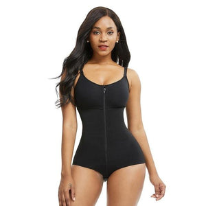 Waist Trainer, Body Slimming Underwear Bodysuit and Postpartum Recovery Modelling Strap Corset - Fit 2 Perfect