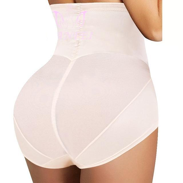 High Waist Trainer Body Shape Panties, Tummy Control Slimming Seamless Underwear and Butt Lifter Briefs - Fit 2 Perfect