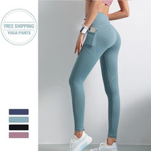 Load image into Gallery viewer, High Waisted Workout Leggings With Pockets - Fit 2 Perfect