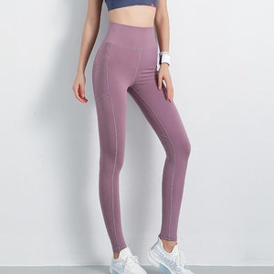 High Waisted Workout Leggings With Pockets - Fit 2 Perfect