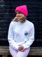 DLAM Circle Sweatshirt by Ginny Pickles