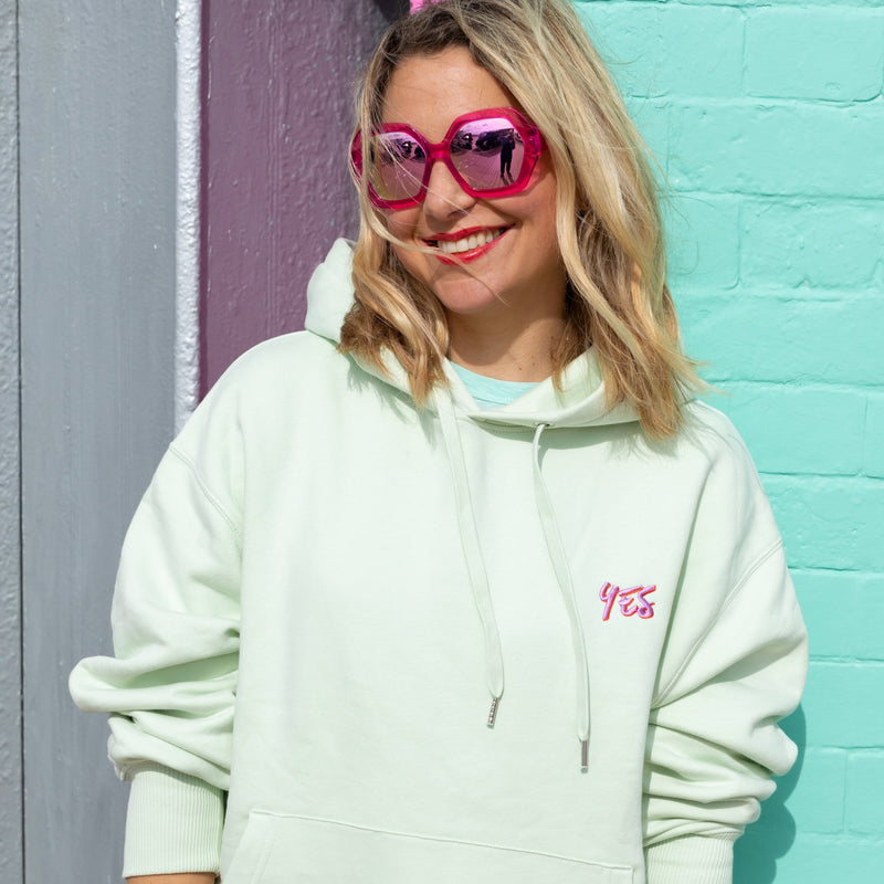 Yes Positive Vibes Hoodie