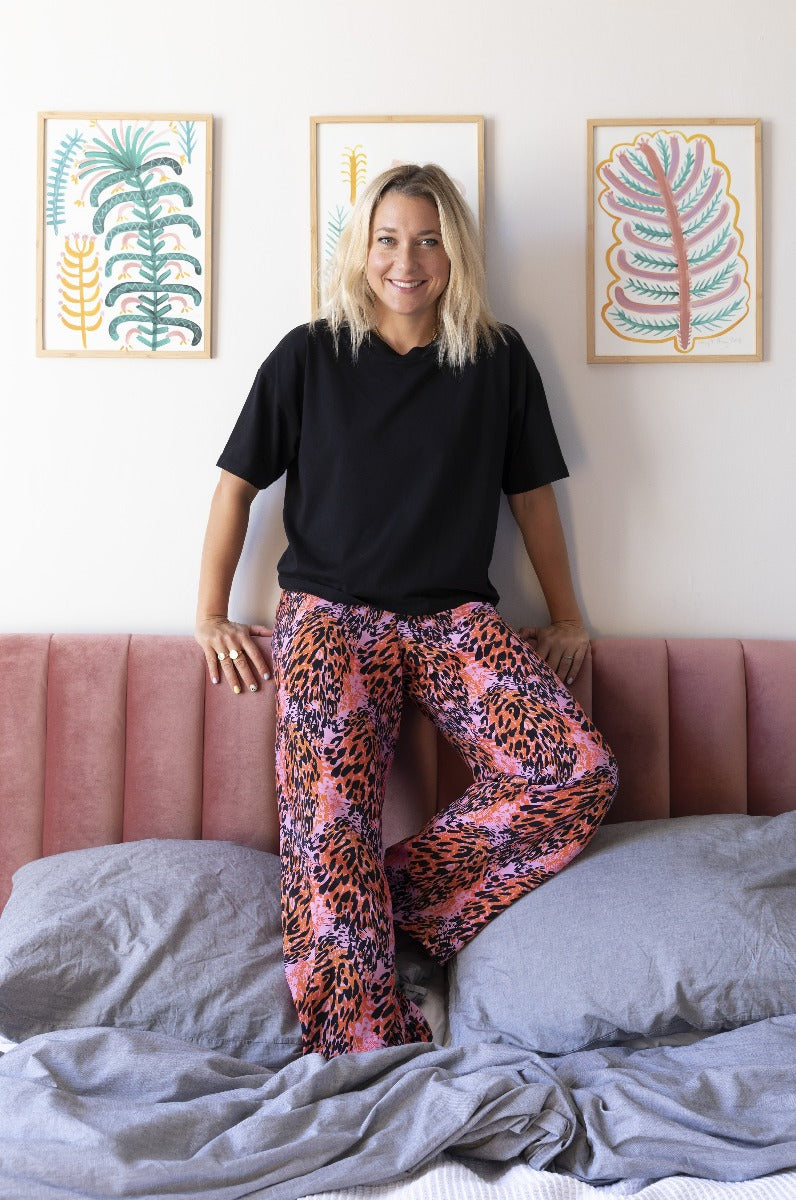 Fox & Taylor x DLAM The Serenity Pyjamas Set