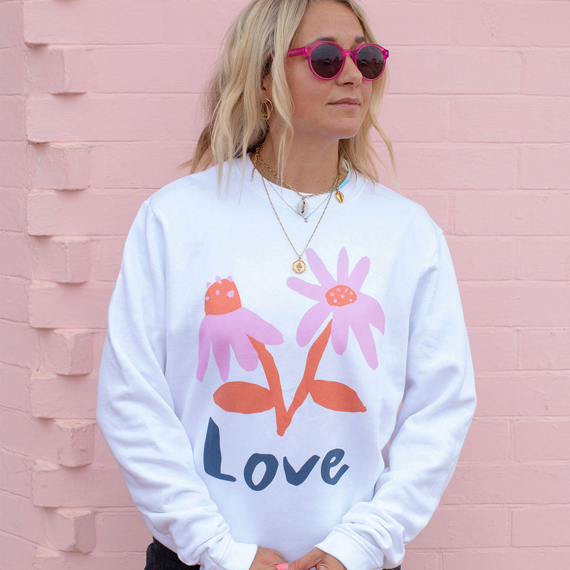 LOVE Sweatshirt by Emma Make