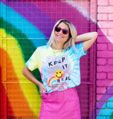 KEEP IT REAL T-shirt by Sophie Ward