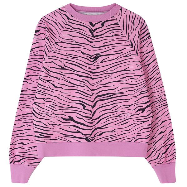 FOX & TAYLOR X DLAM ZIGGY LOUNGE TOP Pink