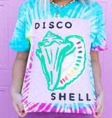 DISCO SHELL T-shirt by Sophie Ward