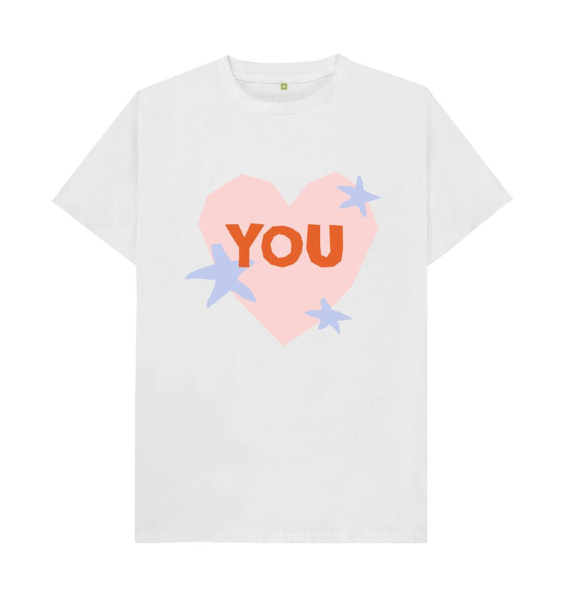 White You T-shirt by Emma Make