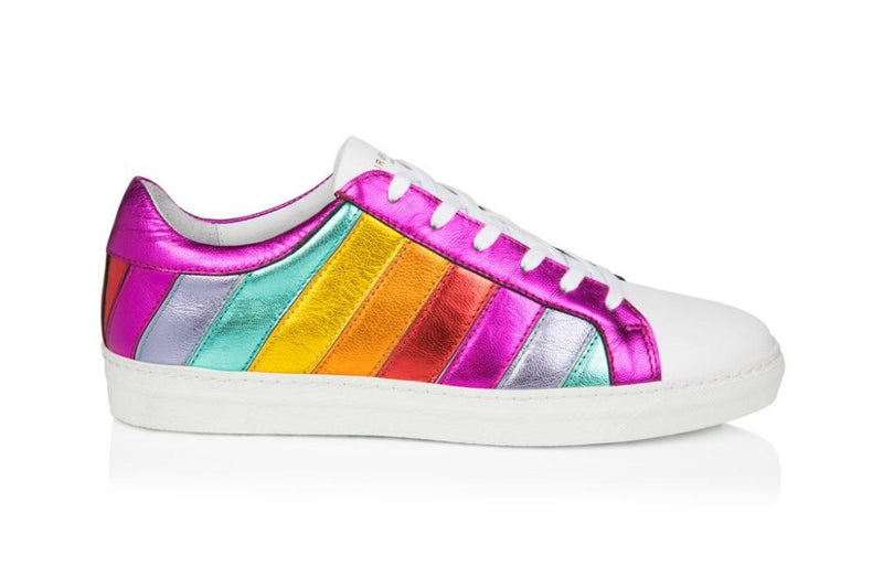 SOLD OUT: Carnivale: Multi-coloured rainbow trainers