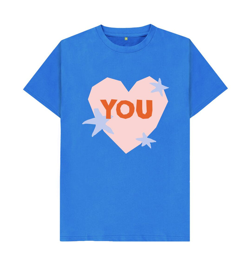 Bright Blue You T-shirt by Emma Make
