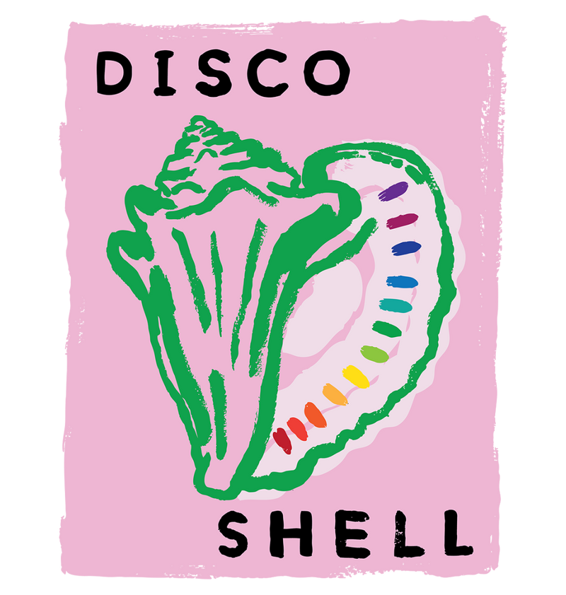 DISCO SHELL Sweatshirt by Sophie Ward