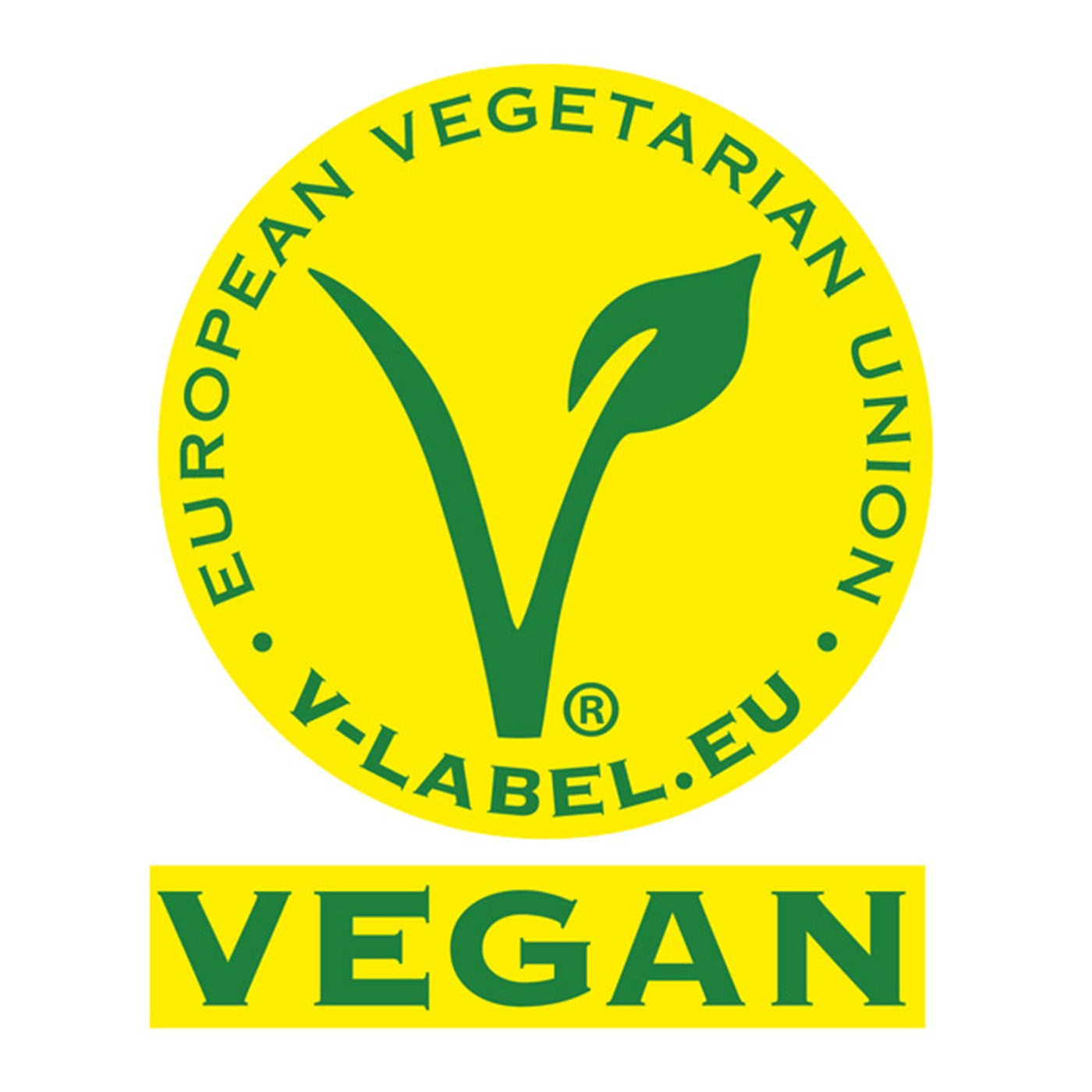 vegan label