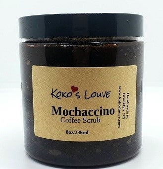 Mochaccino Coffee Scrub -- Limited Edition