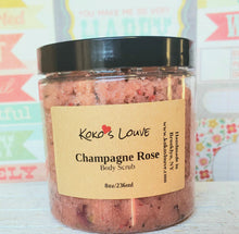 Load image into Gallery viewer, Champagne Rose Body Scrub
