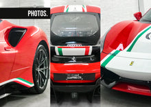 Load image into Gallery viewer, Ferrari 488 Pista Pilote Stripe Kit