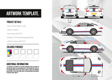 Load image into Gallery viewer, Porsche 997 GT3 Martini Stripe Kit