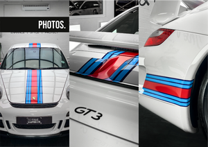 Porsche 997 GT3 Martini Stripe Kit