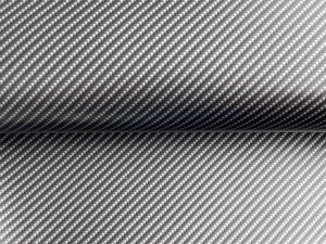 WRPD. Twill Weave Silver Carbon Fibre (W 1500mm)