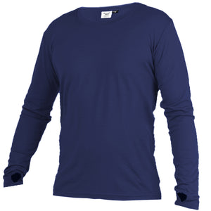 Open image in slideshow, Merino 365 OG Long Sleeve with Thumbloops Top, Sapphire
