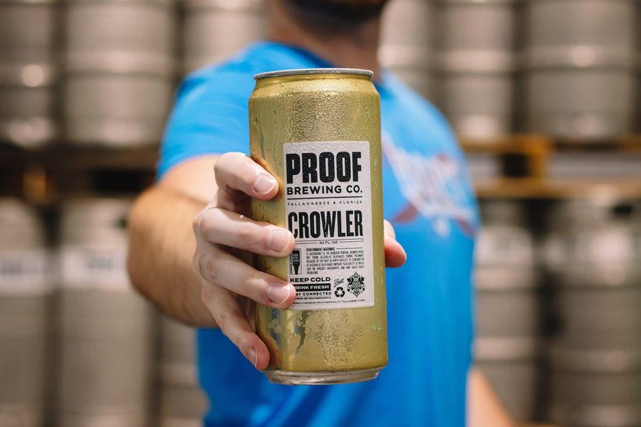 Crowlers 32-oz - Proof Brewing Company