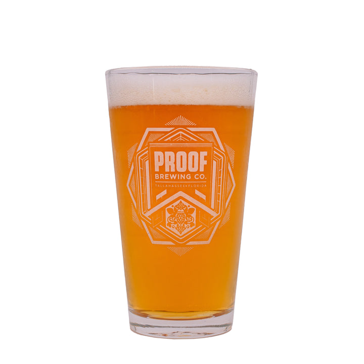 Proof Pint Glass