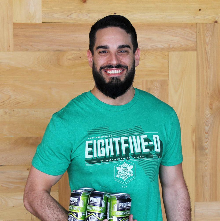 Eightfive-0 T-Shirt - Proof Brewing Company