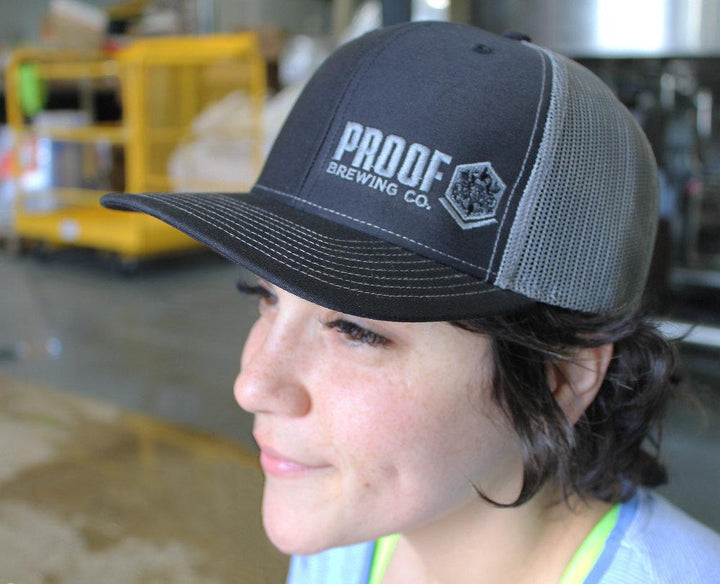 Proof Logo Hat - Black - Proof Brewing Company